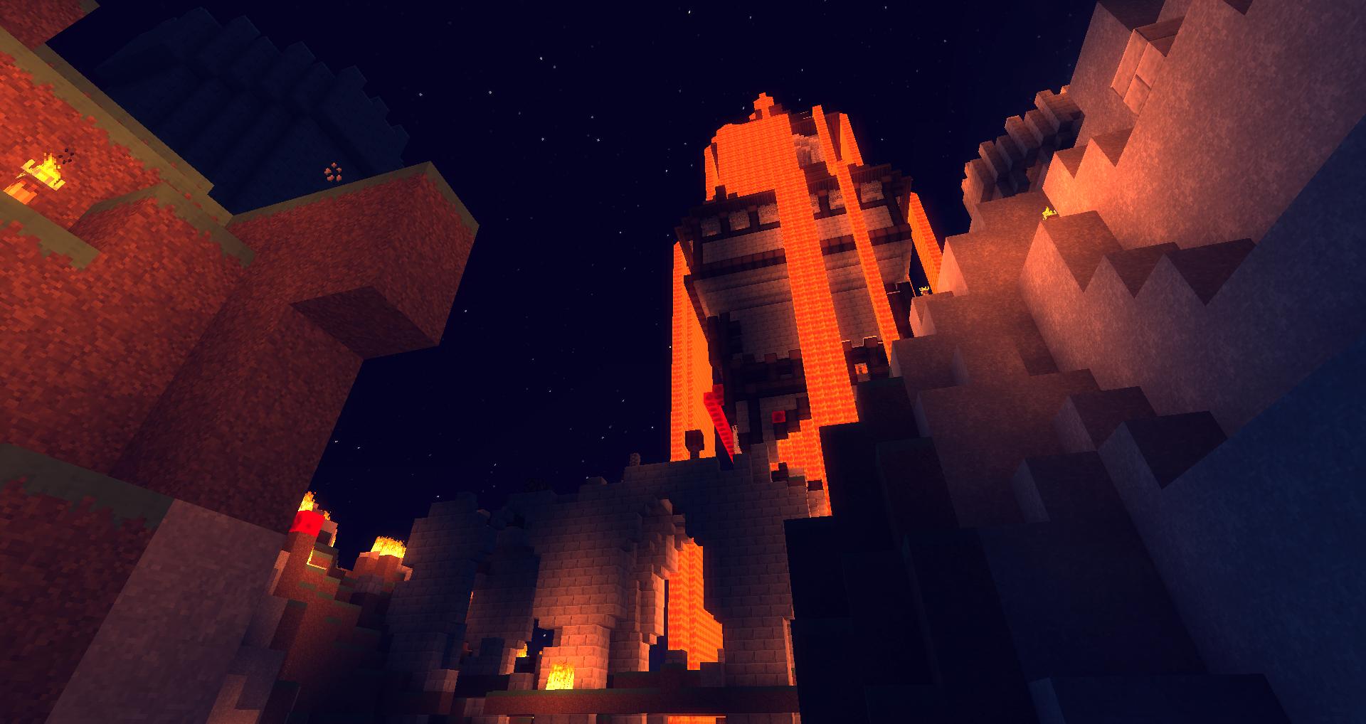 Si je nommais ce château ça serait le château du feu =)