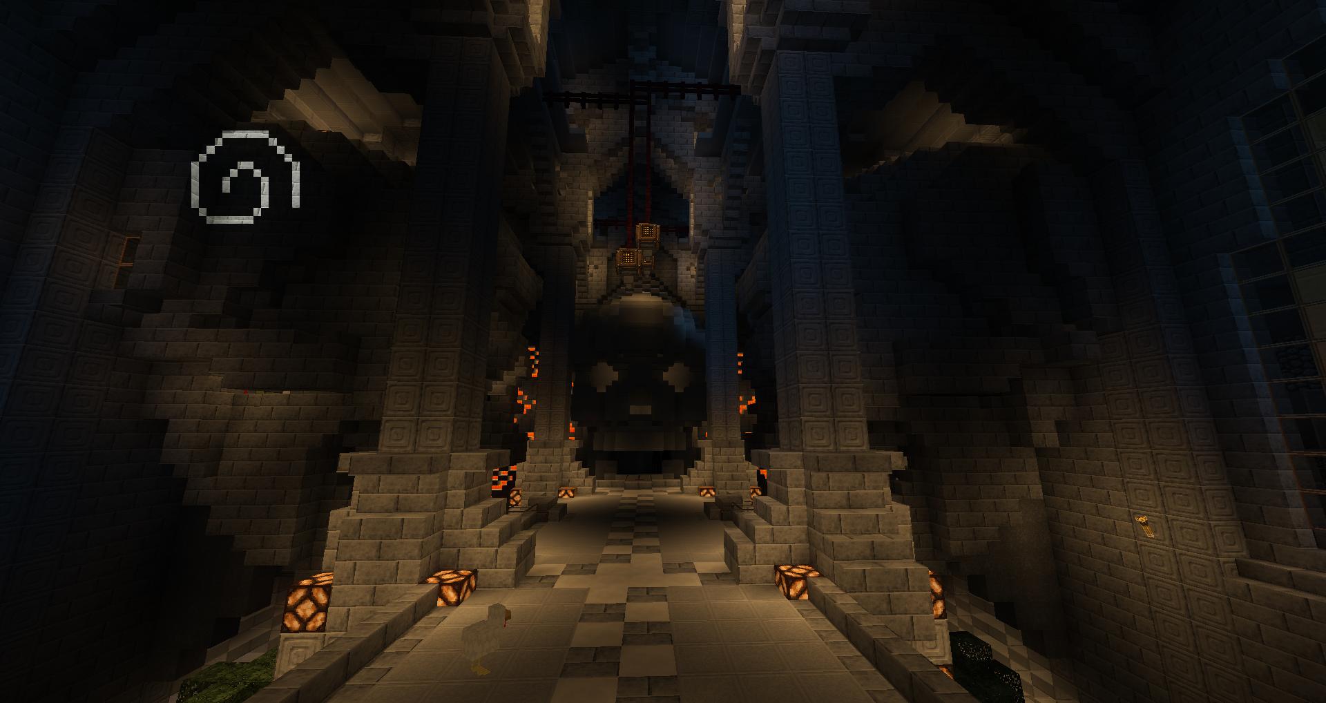 Pas mal cette salle des trônes.