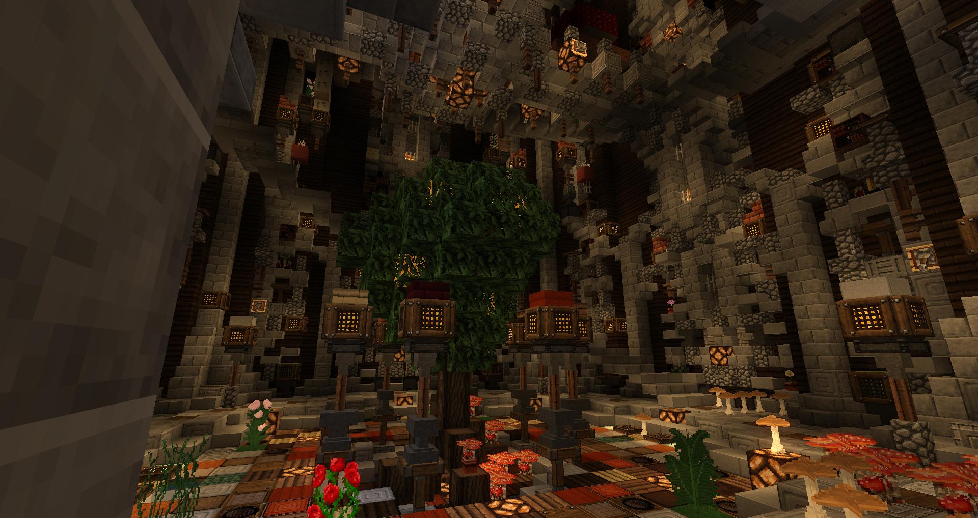 C'est pas un arbre c'est l'Arbre du warp ville !