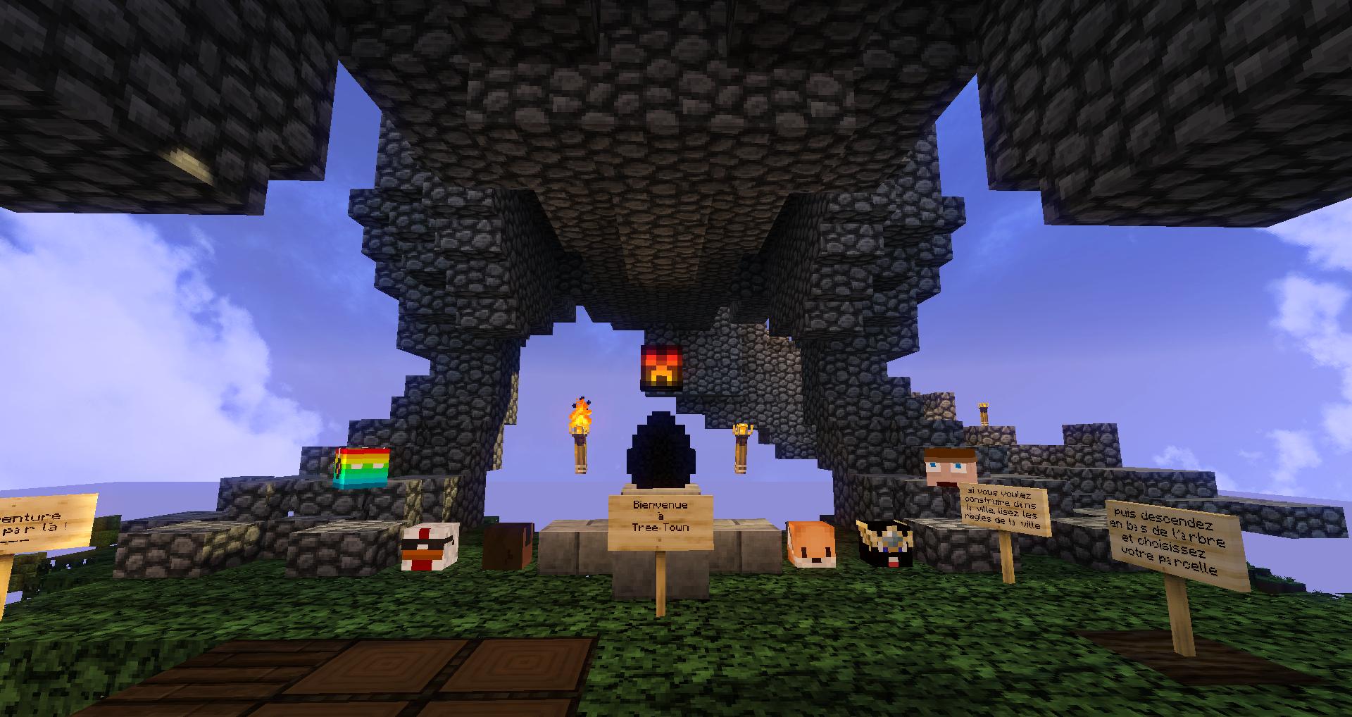 Bienvenue a Tree Town !