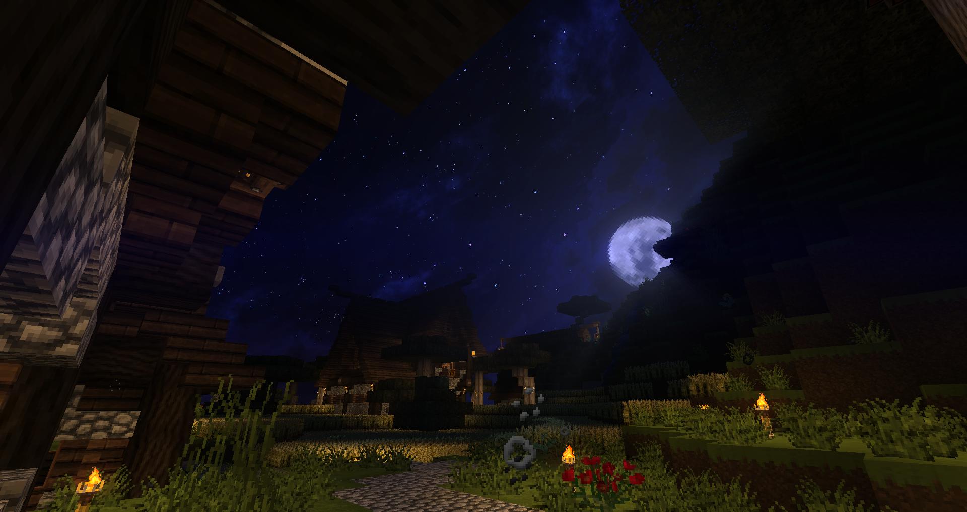 Une lune tout simplement !