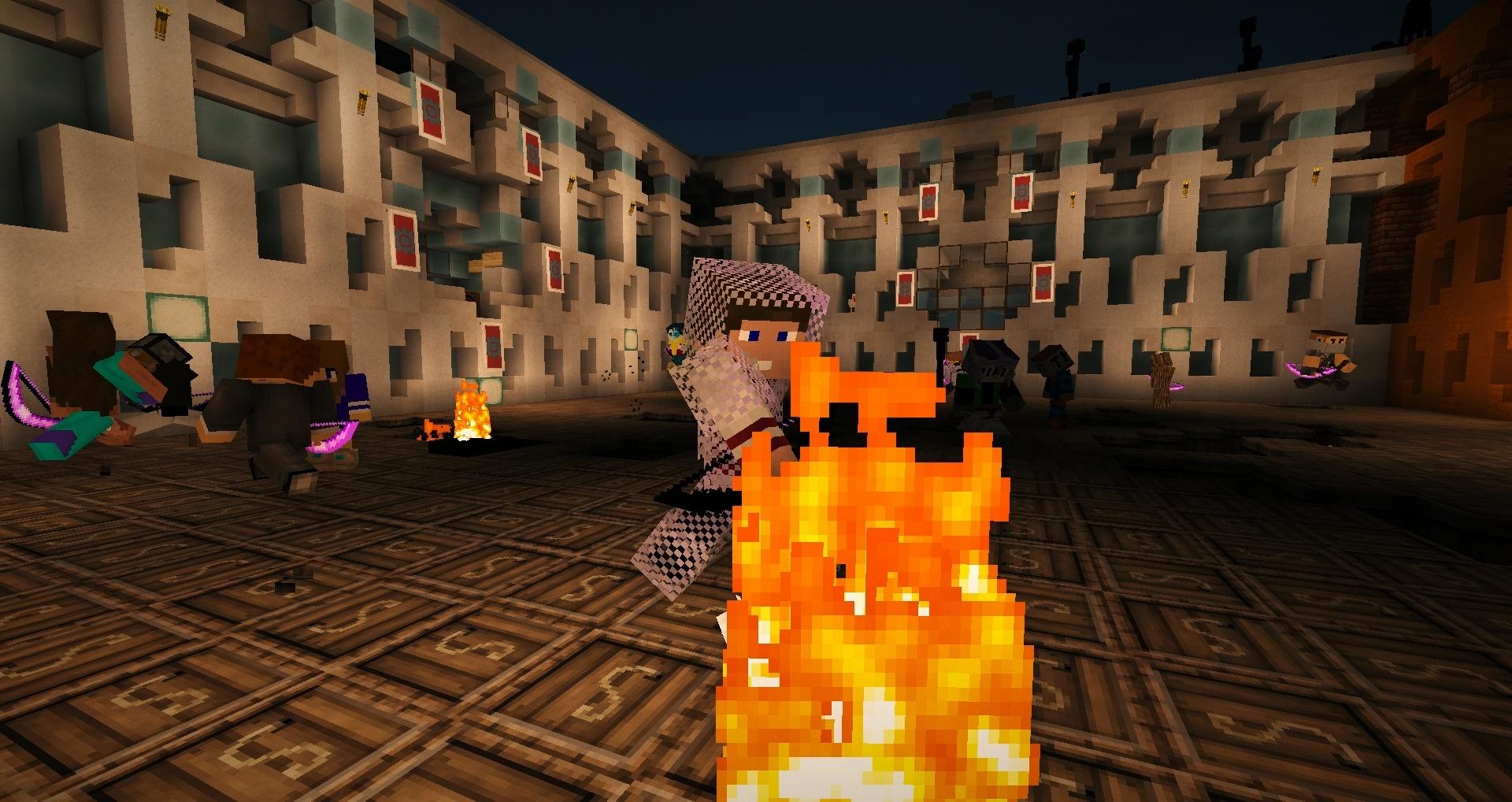Cette flamme révèle le feu hippie !