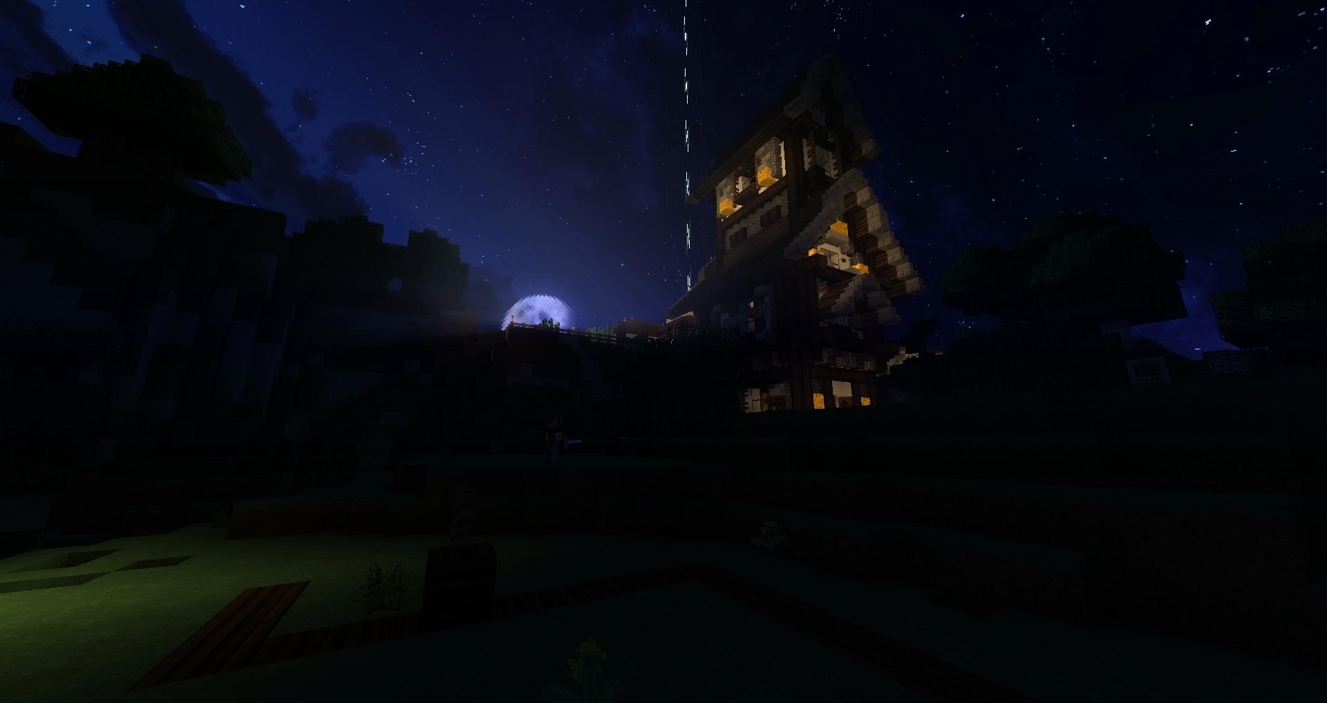 Cette maison me fait penser à une maison de sorcière mais, elle est jolie !