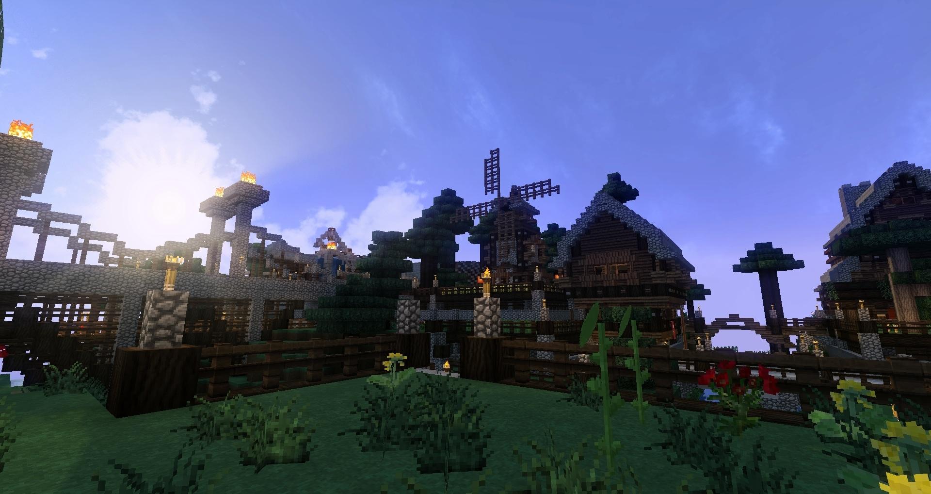 Une bien belle ville ornée de son moulin Gg !