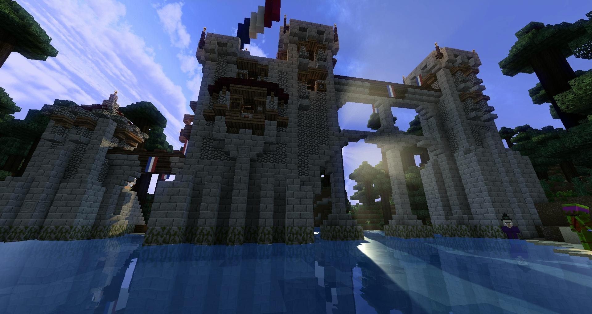 Le fort est gardé par une sorcière MOUHAHAHAH ! (Ps : oui je m'emporte un peu xD).