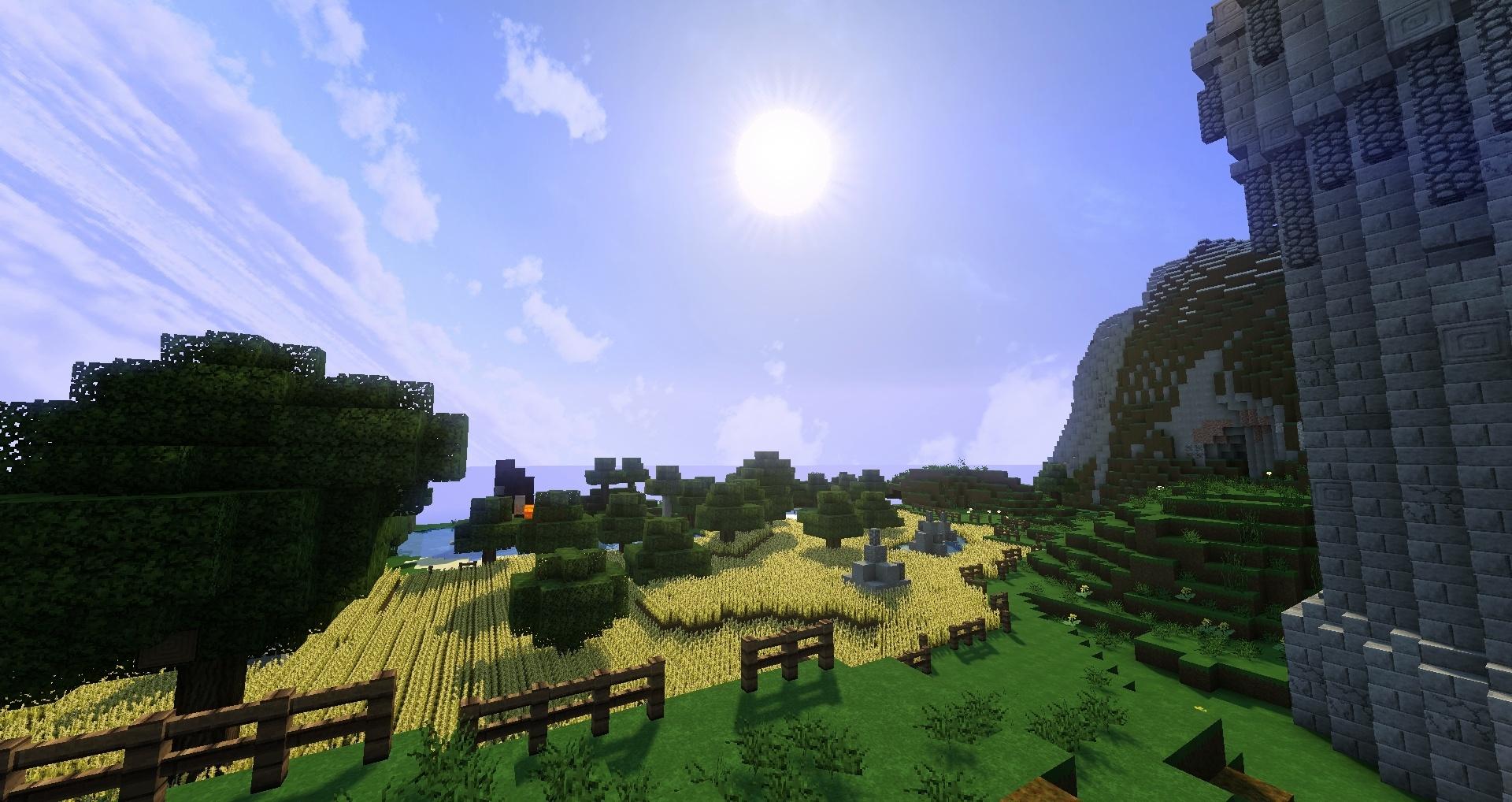 Un champ du soleil et te voilà le roi de l'or ou pas !