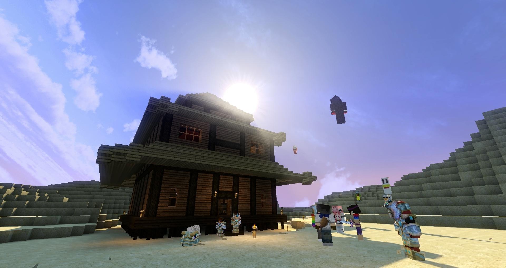 Une maison, un soleil que demander de plus hein ?