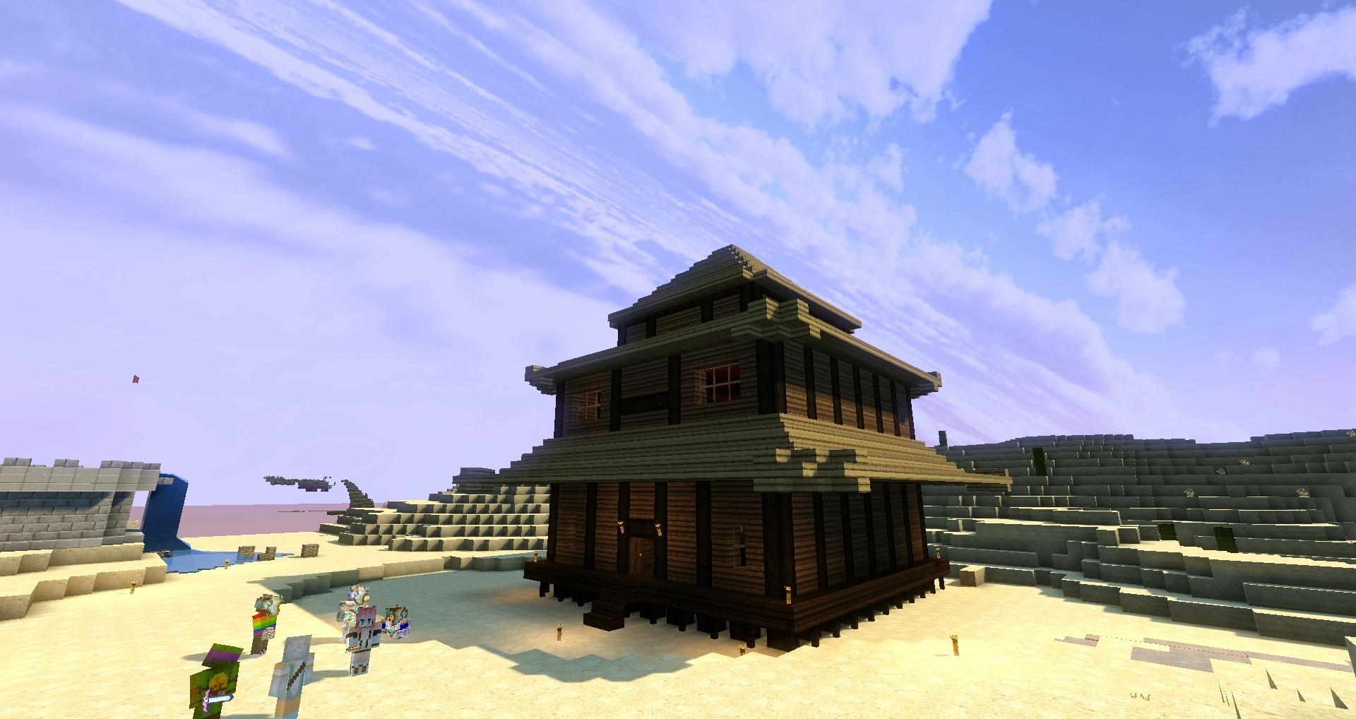 Quoi de plus ? Bah la même maison vue d'un autre angle ! xD