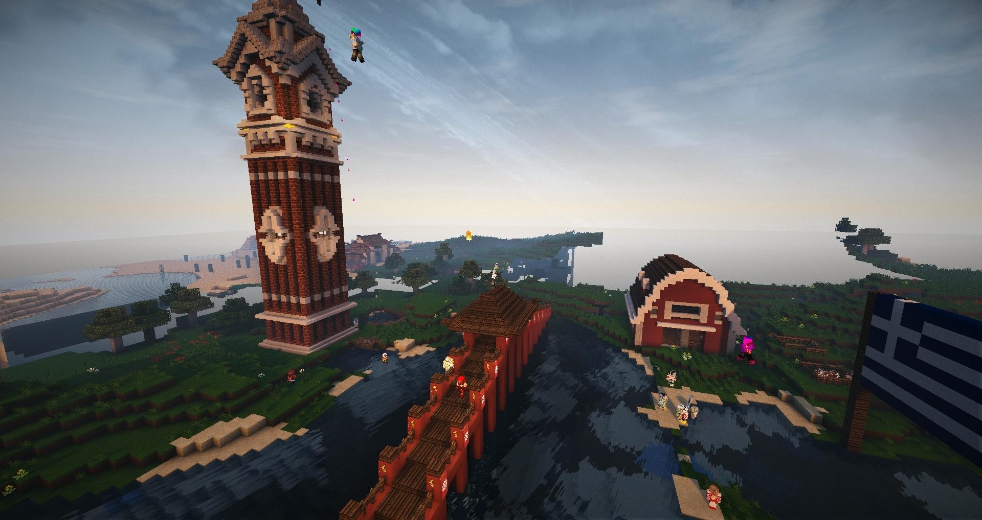 Une ferme, un clocher, un pont le tout pour être heureux !
