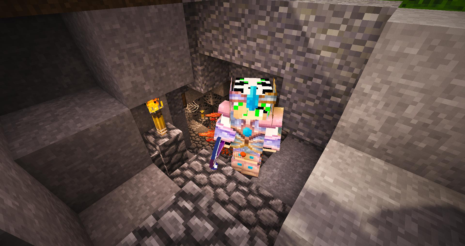 Une petite image avec le créateur de la grotte !