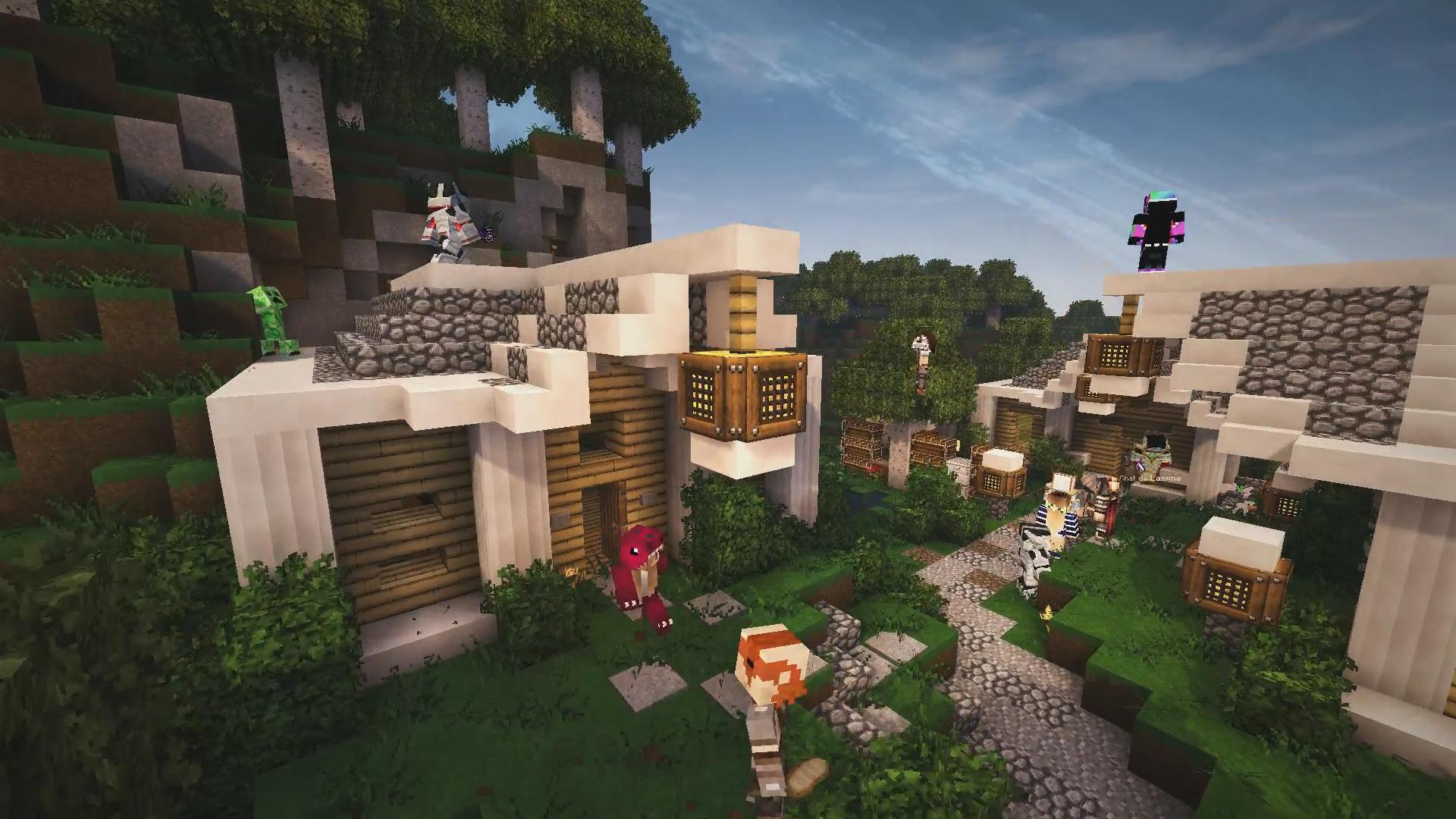 Le village elfique par iZeeka !