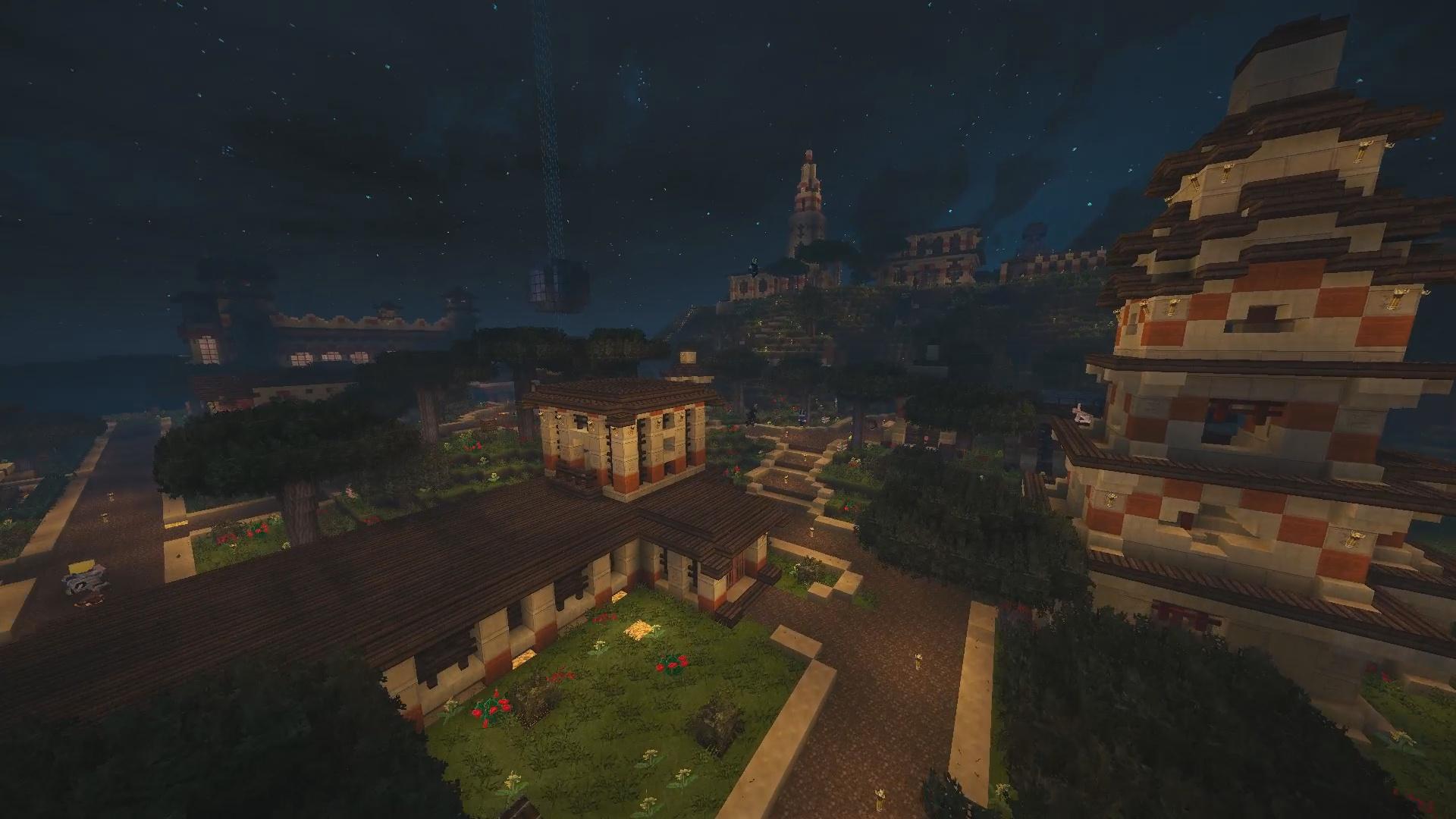 Voici le hameau du magicien de PaC Vinci_MerliN !