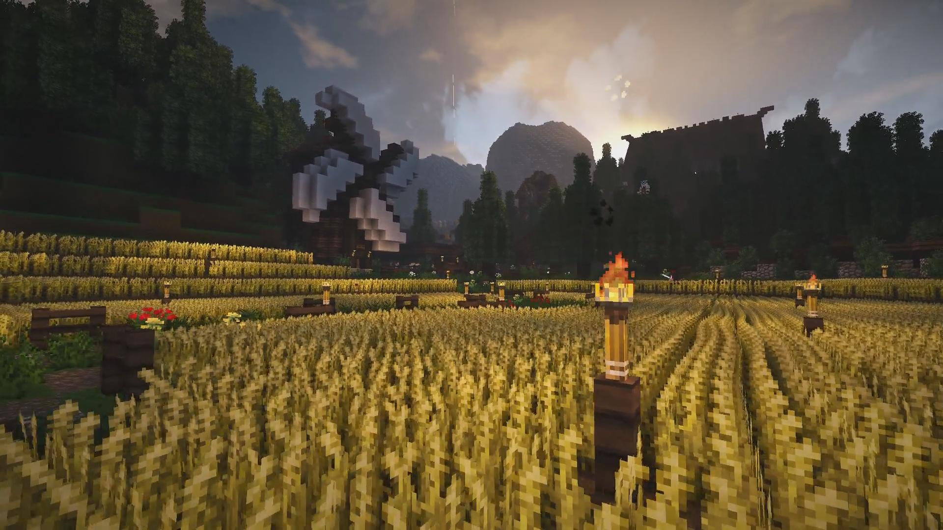 Promis les récoltes seront bonne !