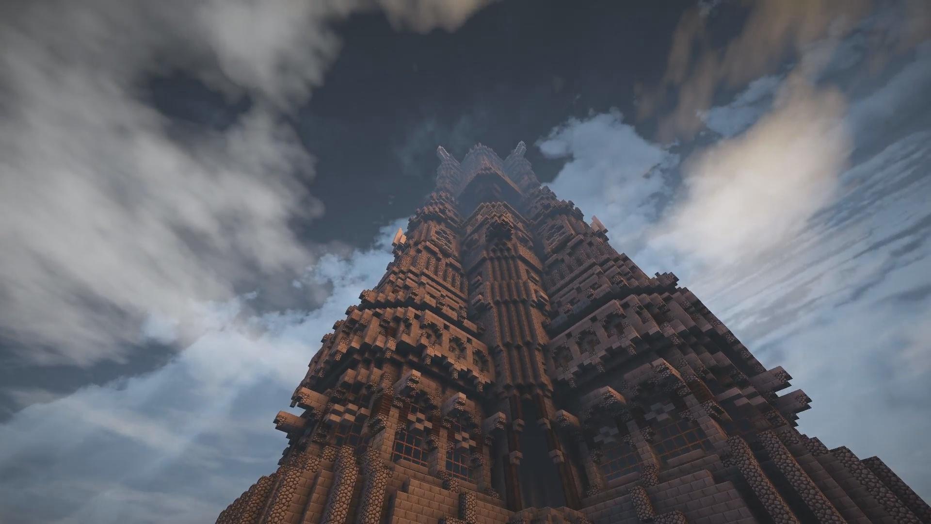 C'est la tour dans le seigneur des anneaux ça !