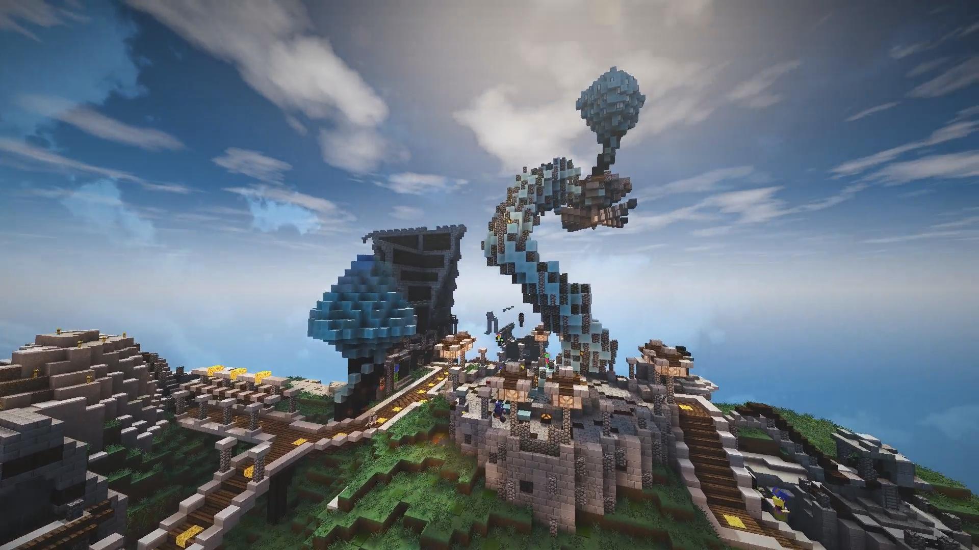 Bienvenue dans la cité de Arképi par BlueArky et Linkipi !
