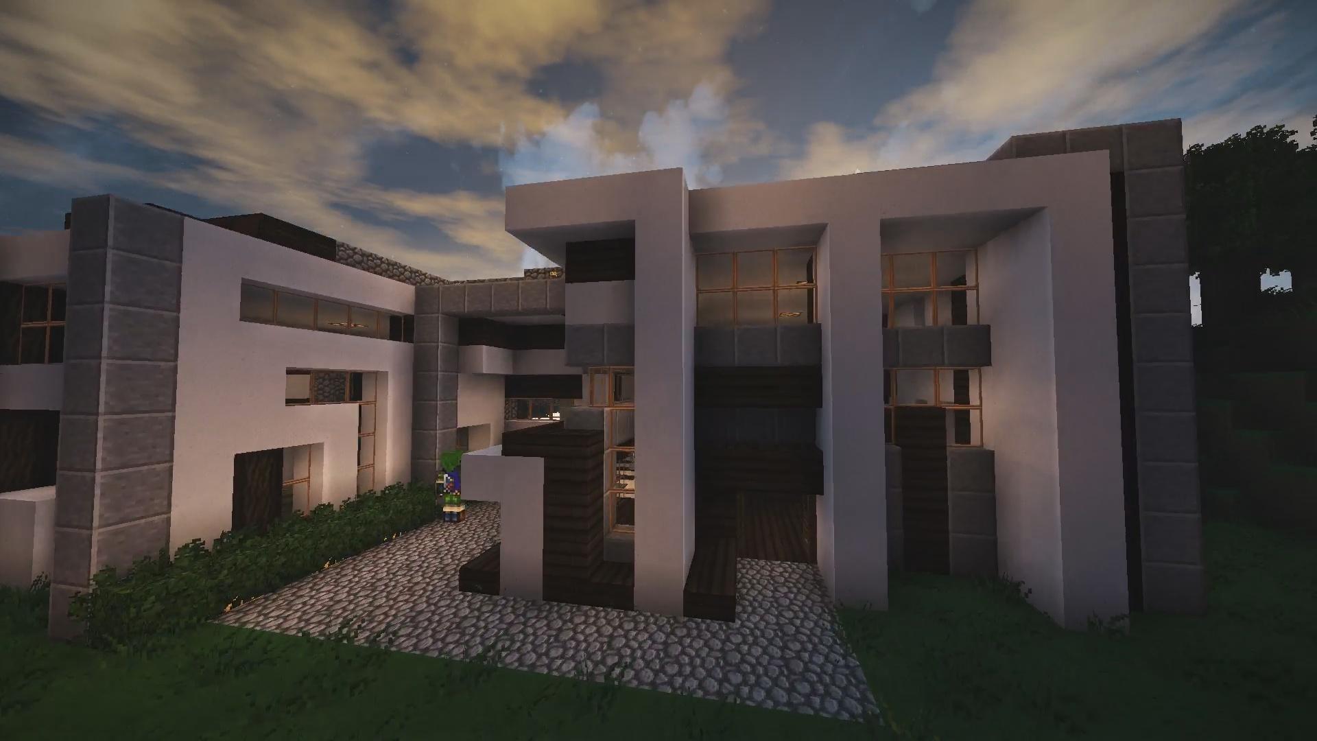 Maison moderne de Xynon !