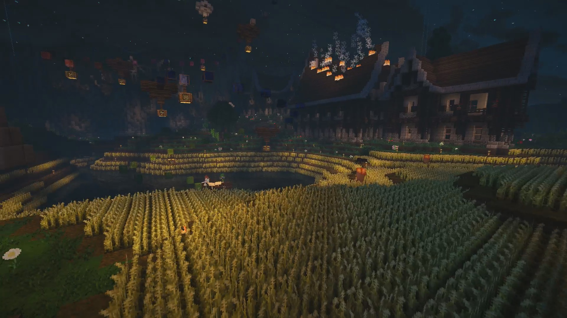 Je vous souhaite la bienvenue chez MegamicMC qui nous propose un village médiévale excellent !