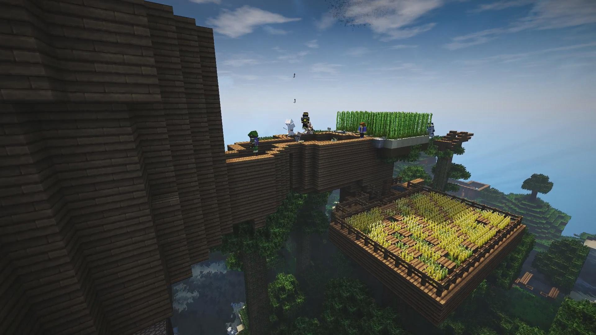 De l'agriculture dans les arbres pourquoi pas xD !