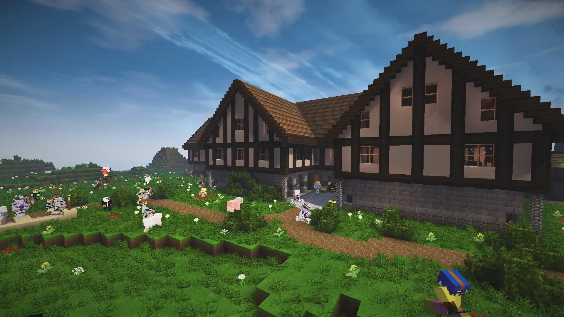 Chez Burnedbiscot qui nous propose la maison du dovakin !