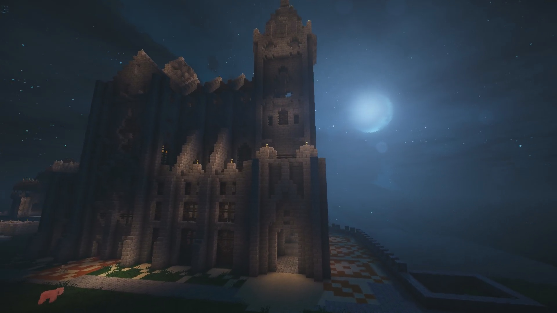 Y'a une jolie cathédrale aussi !