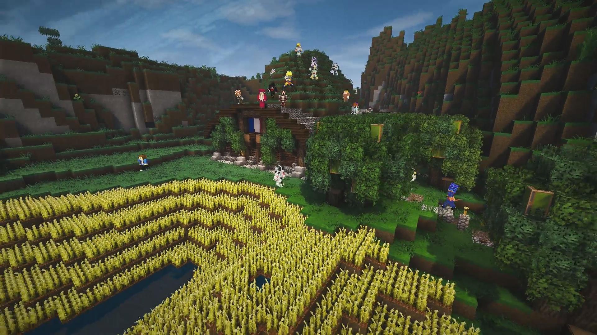 Bienvenue dans le nouveau village Hobbit de MrAntho !