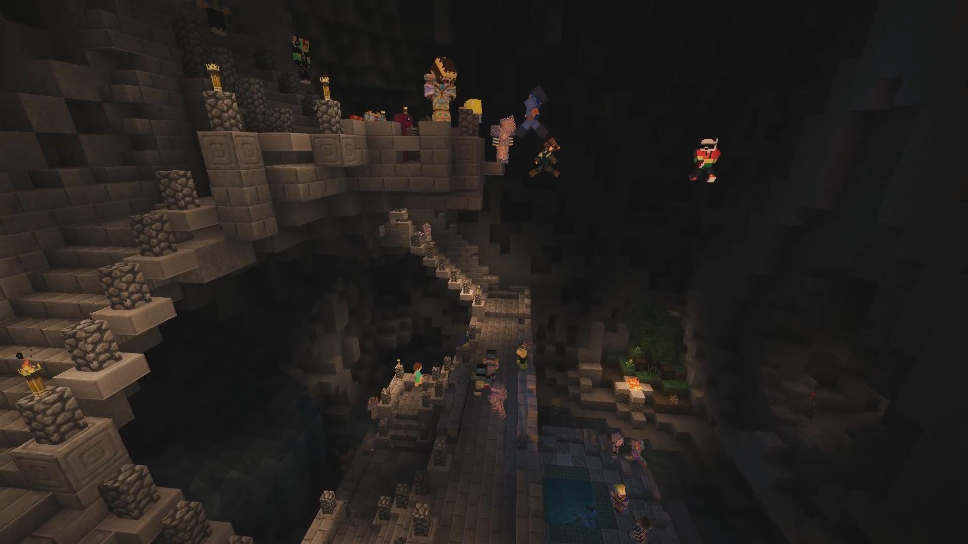 Les hippies font le saut de la foi dans la grotte PaCAssassin !