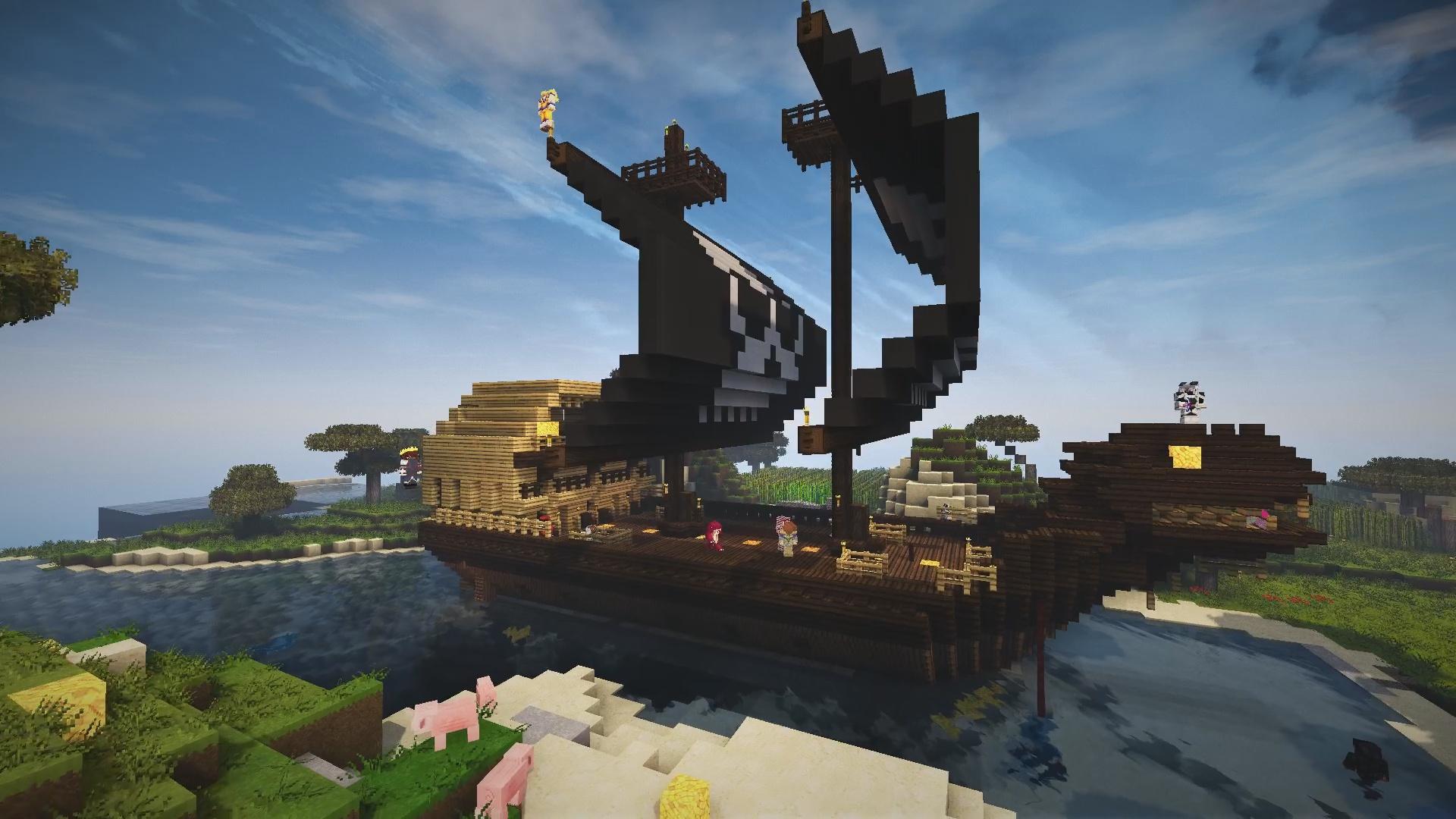 Et on continue avec un bateau pirate proposé par Hts_Red !