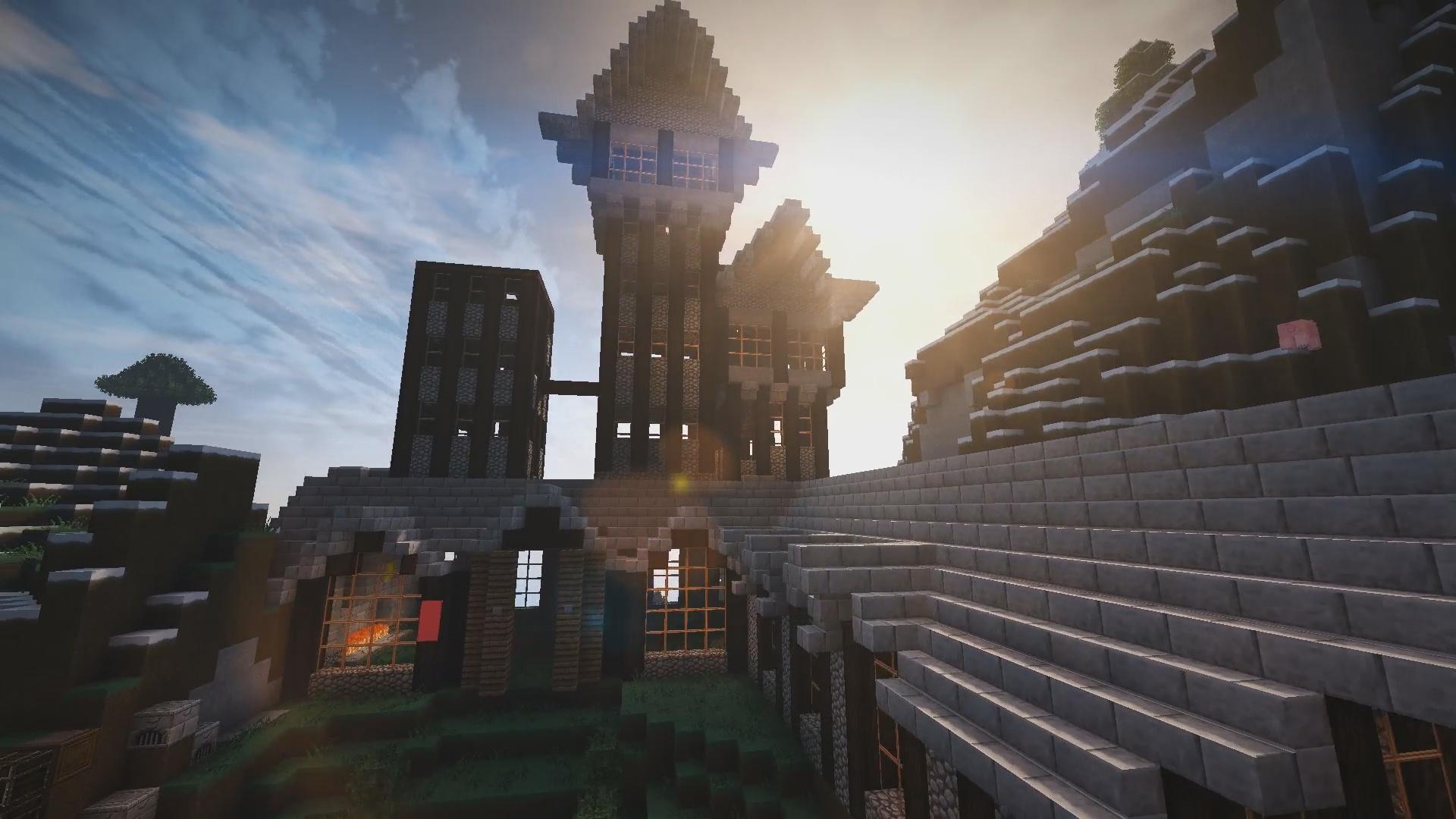 Nous voici à Rivebois la ville de GamerBraud !