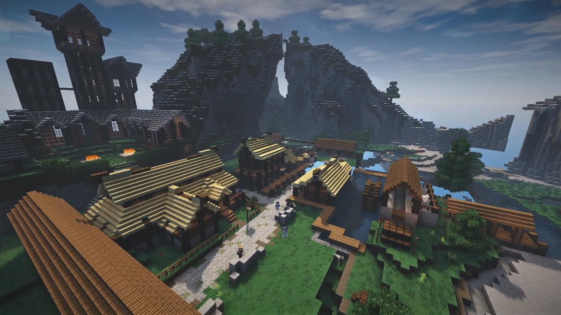 Sa ressemble vraiment à la ville dans Skyrim !