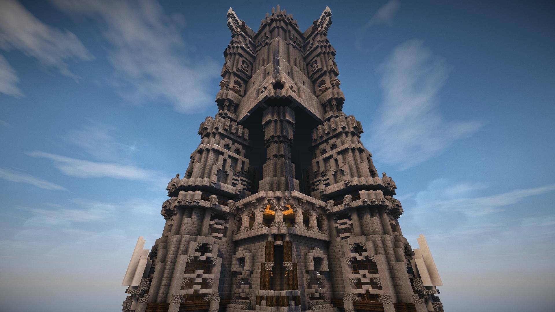 Hé oui je pense que vous avez reconnu la tour de saroumane du seigneur des anneaux !