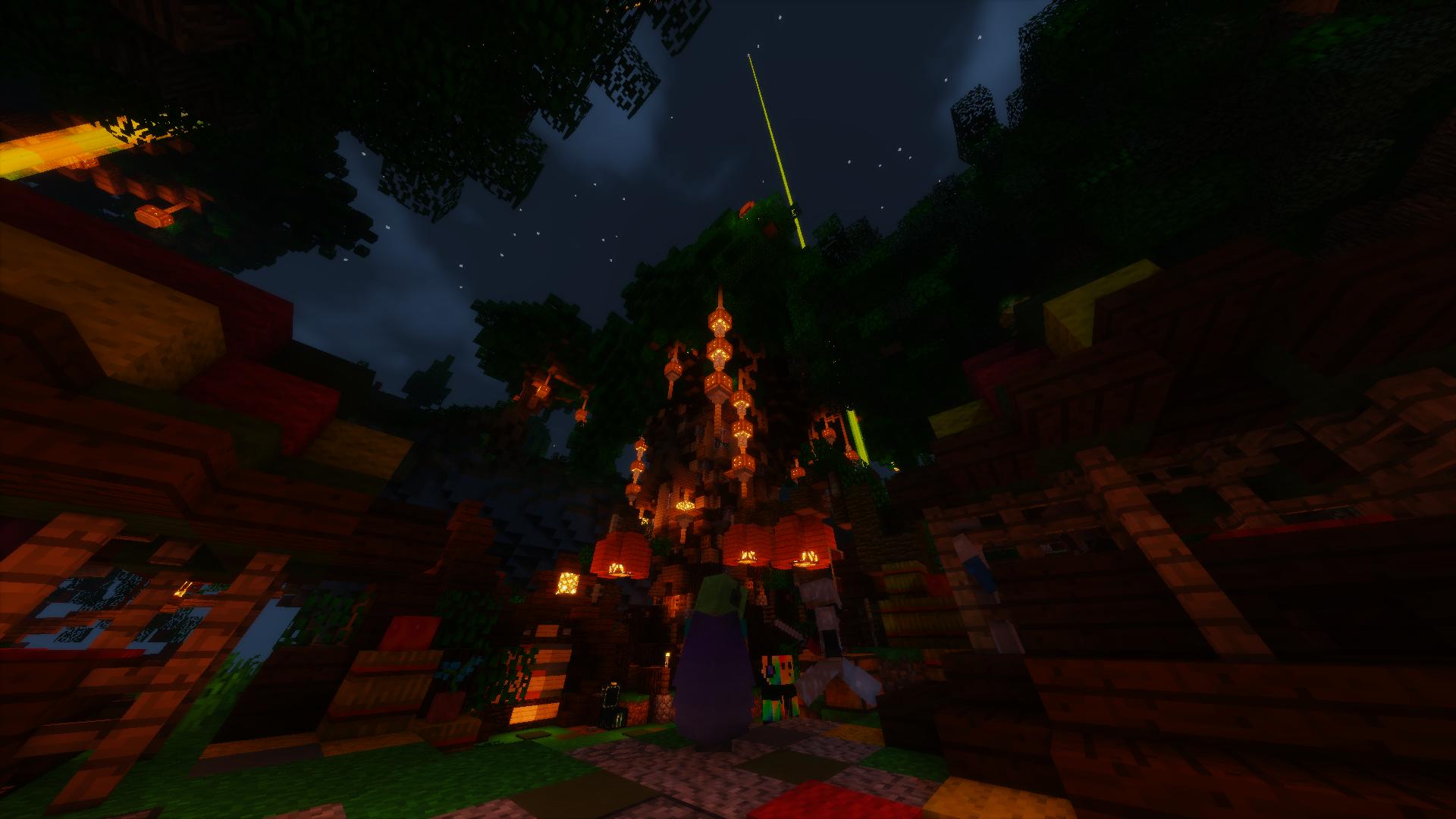Le spawn de PaC de nuit !