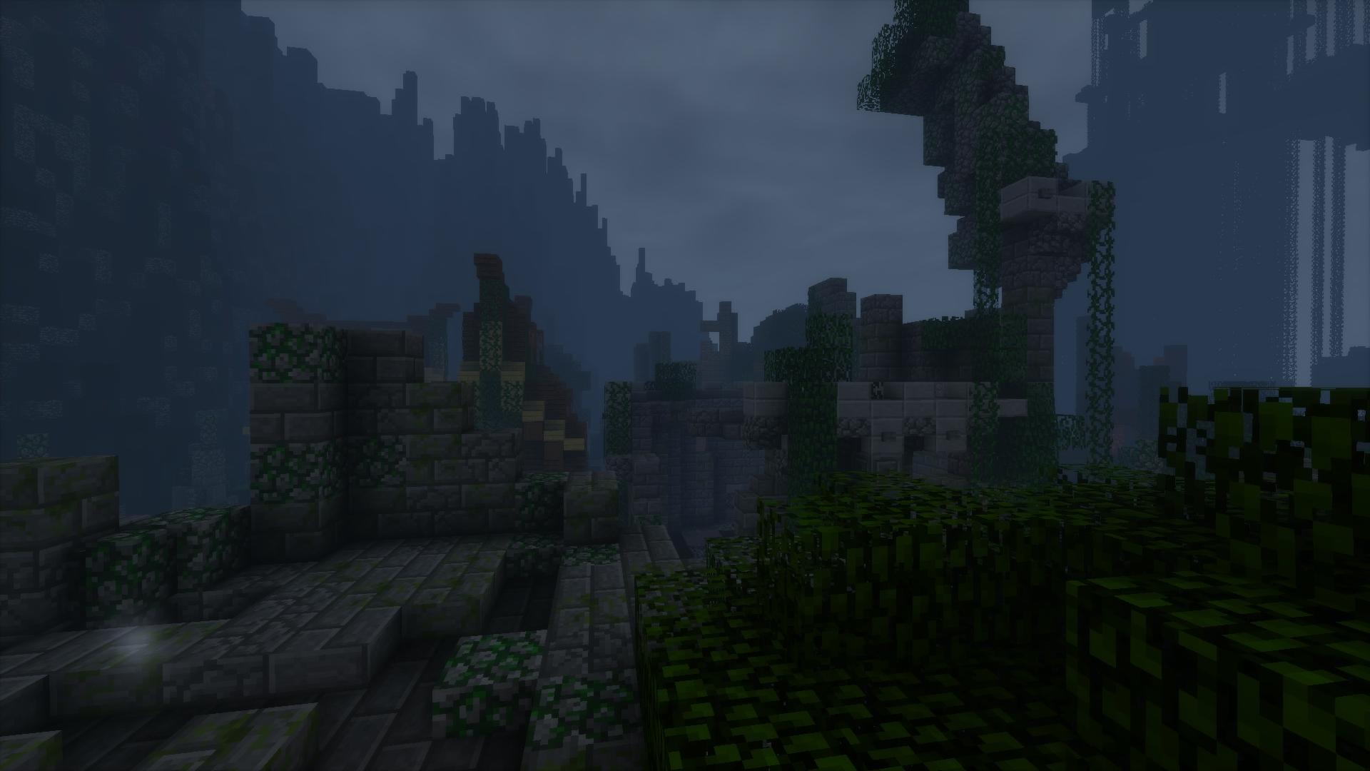Les ruines de l'ancien PaC xD !