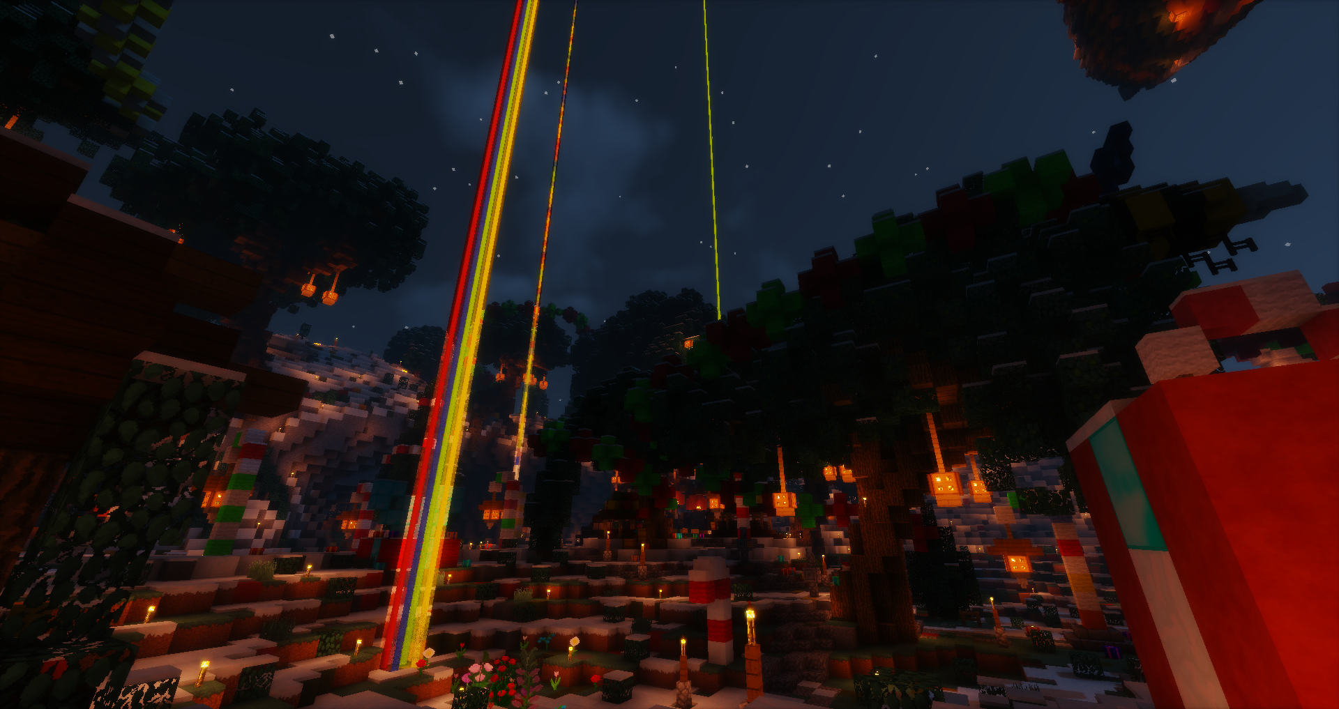 Bienvenue au spawn